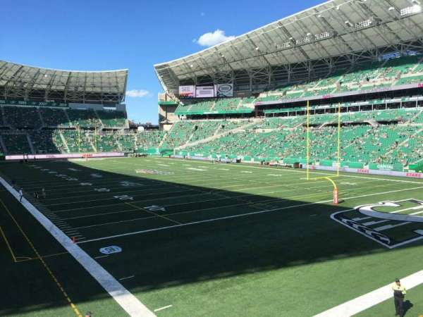 Mosaic Stadium, section: 106, row: 11, seat: 14