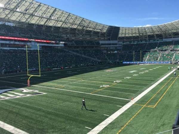 Mosaic Stadium, section: 147, row: 12, seat: 7