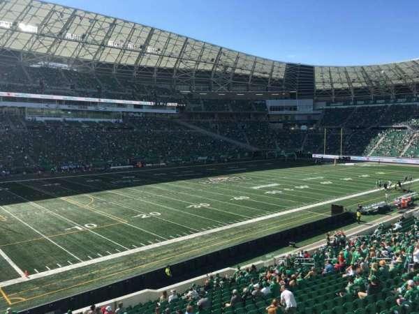 Mosaic Stadium, section: 144, row: 18, seat: 8