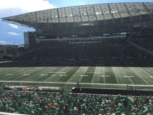 Mosaic Stadium, section: 237, row: 2, seat: 1