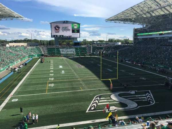 Mosaic Stadium, section: 227, row: 1, seat: 22