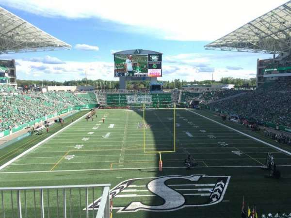Mosaic Stadium, section: 226, row: 2, seat: 20