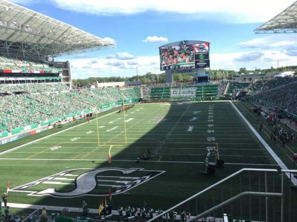 Mosaic Stadium, section: 225, row: 2, seat: 2