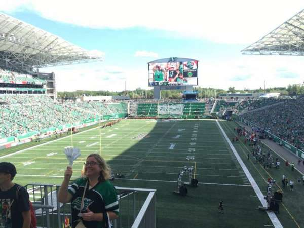 Mosaic Stadium, section: 224, row: 2, seat: 19