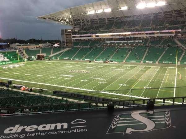 Mosaic Stadium, section: 333, row: 1, seat: 3