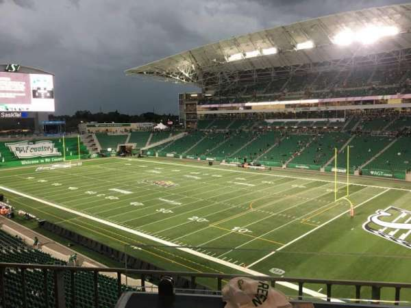Mosaic Stadium, section: 331, row: 1, seat: 3