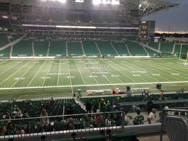 Mosaic Stadium, section: 317, row: 4, seat: 3