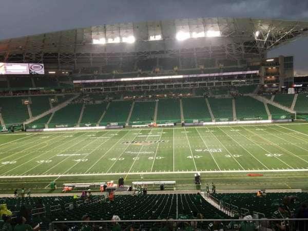 Mosaic Stadium, section: 313, row: 5, seat: 6