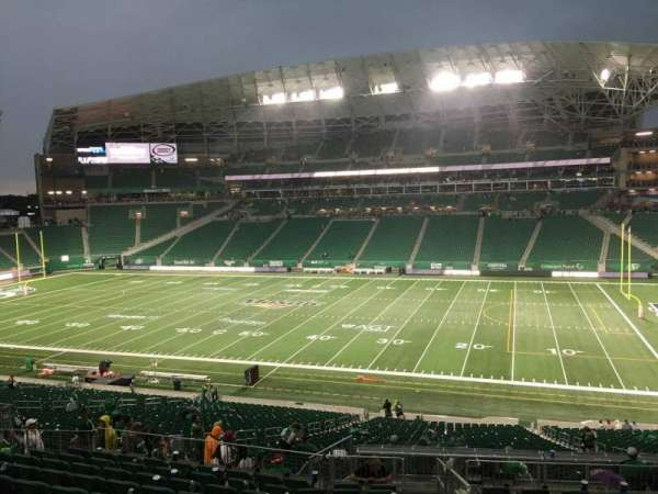 Mosaic Stadium, section: 310, row: 11, seat: 1