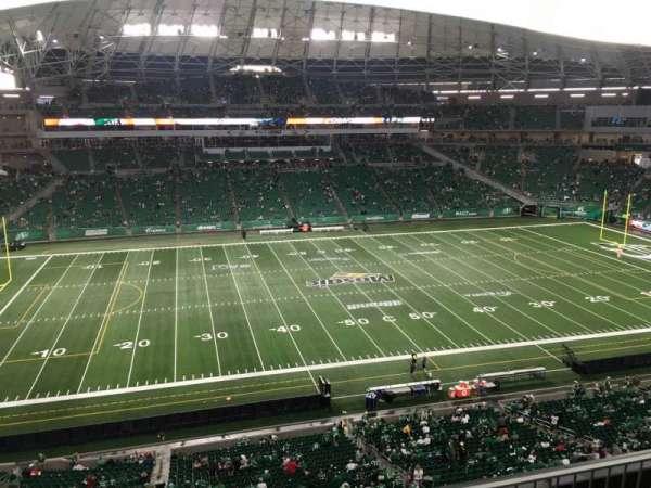 Mosaic Stadium, section: 540, row: 9, seat: 25