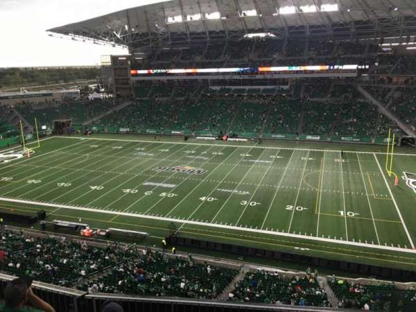 Mosaic Stadium, section: 536, row: 11, seat: 3