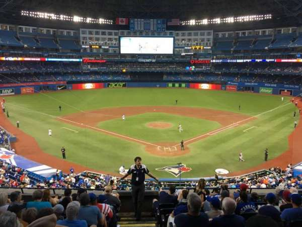 Rogers Centre, section: 224br, row: 6, seat: 1