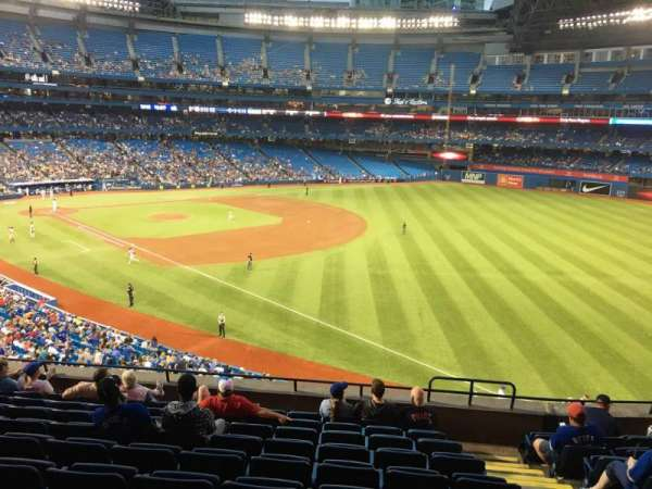 Rogers Centre, section: 212L, row: 10, seat: 101