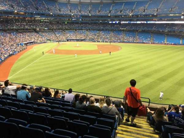 Rogers Centre, section: 207L, row: 9, seat: 101