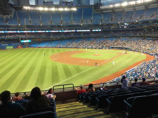 Rogers Centre, section: 236L, row: 9, seat: 101