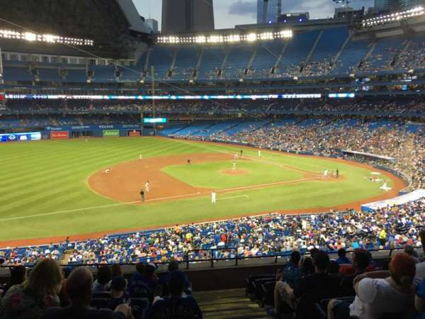 Rogers Centre, section: 232l, row: 9, seat: 101