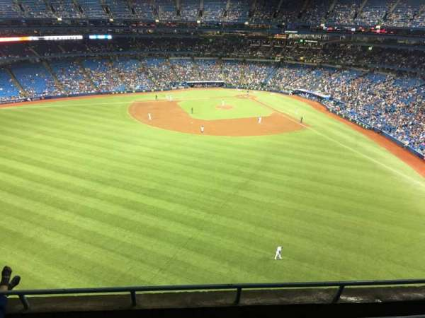 Rogers Centre, section: 544R, row: 4, seat: 7