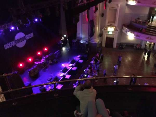 Usher Hall, section: Upper Circle, row: D, seat: 67
