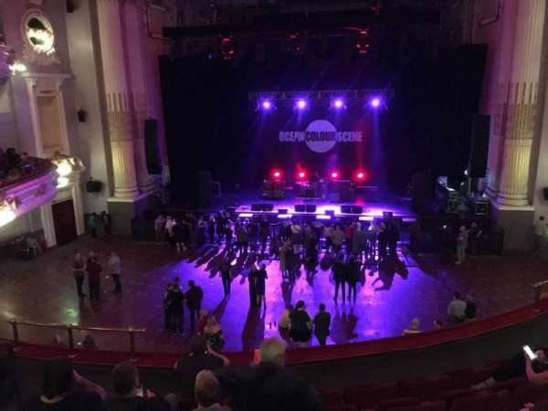 Usher Hall, section: Dress Circle, row: F, seat: 38