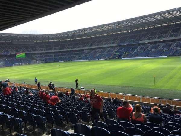 Murrayfield Stadium, section: E1, row: W, seat: 17