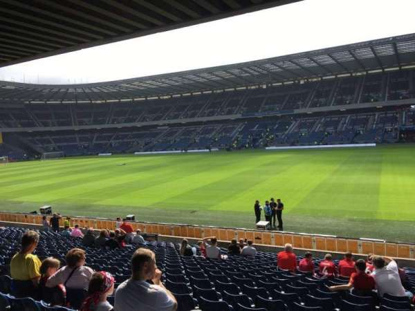Murrayfield Stadium, section: E3, row: W, seat: 21