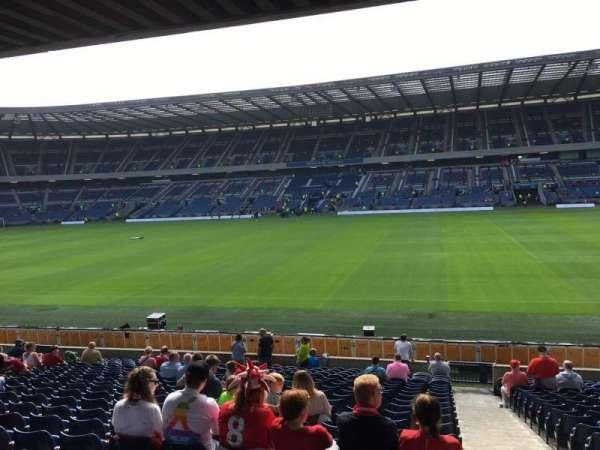 Murrayfield Stadium, section: E5, row: W, seat: 17