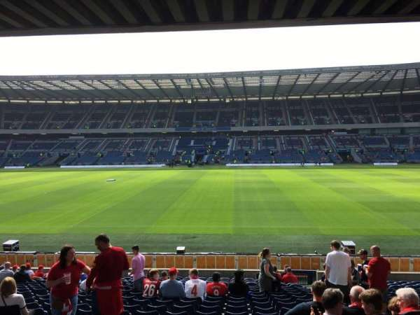 Murrayfield Stadium, section: E7, row: W, seat: 21