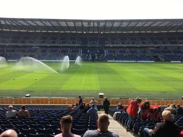 Murrayfield Stadium, section: E9, row: W, seat: 17