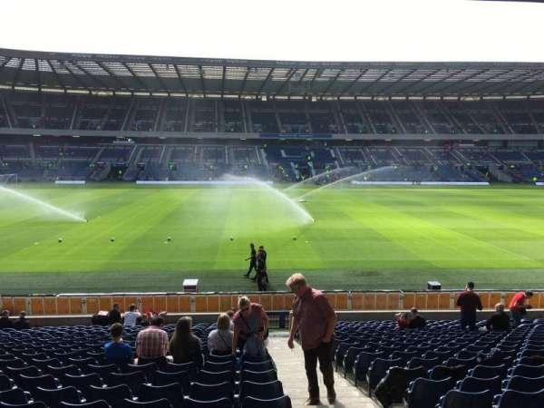 Murrayfield Stadium, section: E11, row: X, seat: 18