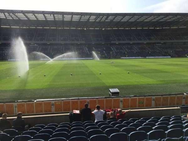 Murrayfield Stadium, section: E11, row: L, seat: 27