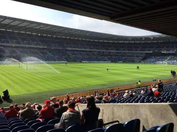 Murrayfield Stadium, section: S1, row: W, seat: 9