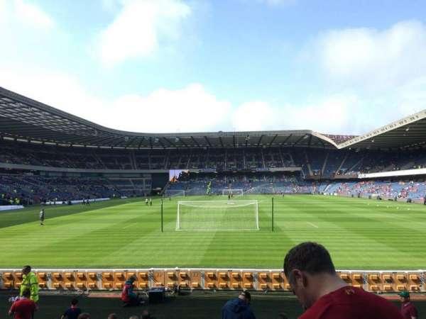Murrayfield Stadium, section: S9, row: S, seat: 1