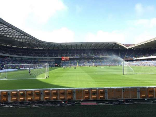 Murrayfield Stadium, section: S13, row: F, seat: 12