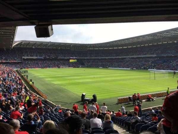 Murrayfield Stadium, section: N15, row: Y, seat: 28