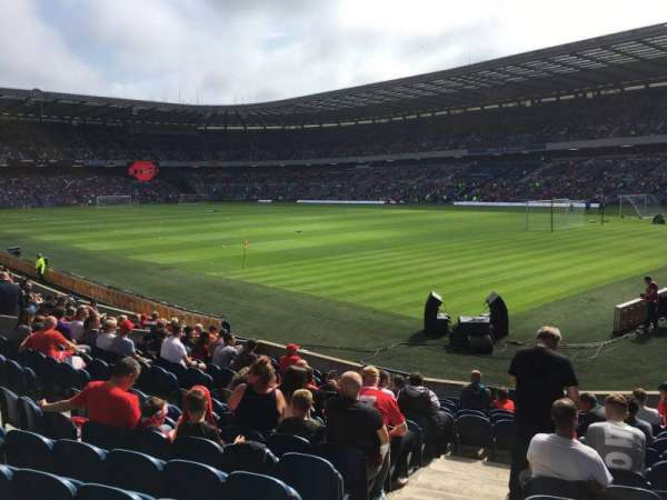 Murrayfield Stadium, section: N17, row: R, seat: 10