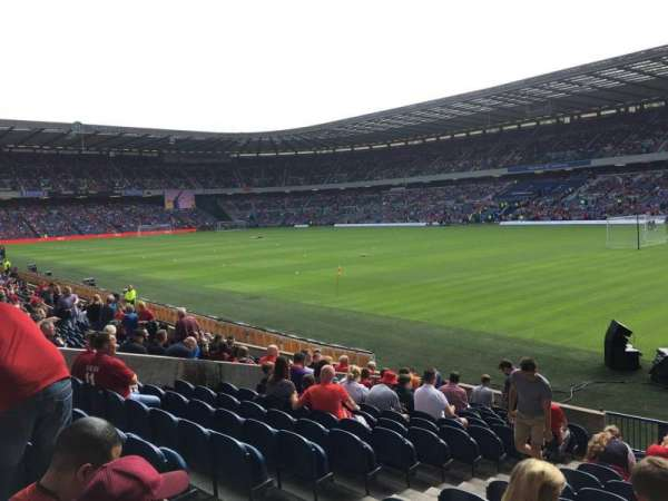 Murrayfield Stadium, section: N17, row: R, seat: 17