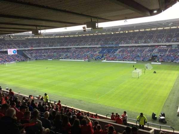 Murrayfield Stadium, section: E2, row: T, seat: 33