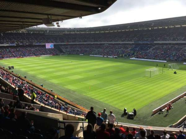Murrayfield Stadium, section: N20, row: R, seat: 4