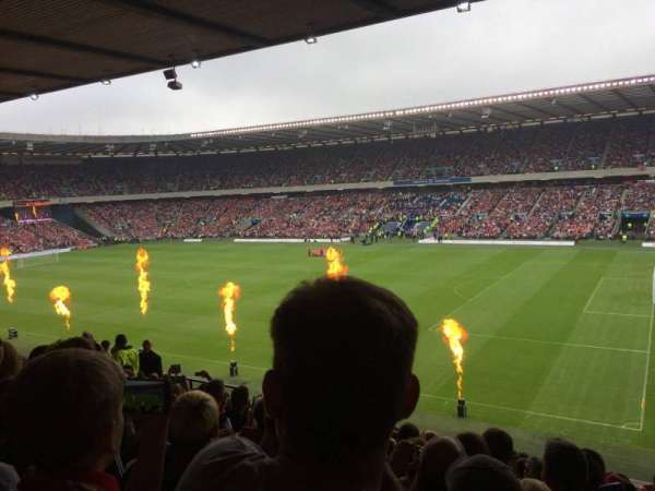 Murrayfield Stadium, section: E4, row: N, seat: 22