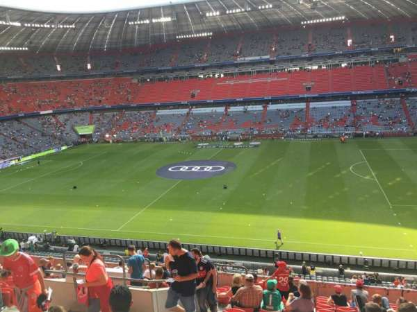 Allianz Arena, section: 232, row: 15, seat: 23