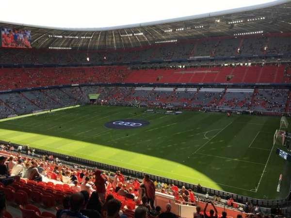 Allianz Arena, section: 234, row: 21, seat: 23