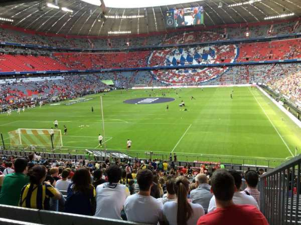 Allianz Arena, section: 114, row: 27, seat: 24