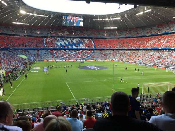 Allianz Arena, section: 111, row: 27, seat: 5