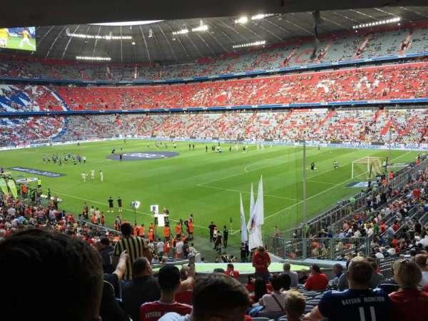 Allianz Arena, section: 108, row: 27, seat: 8