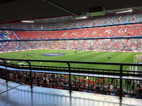 Allianz Arena, section: 107, row: Wc, seat: 8