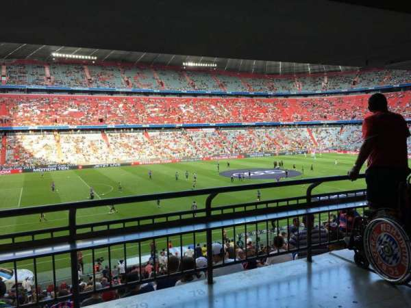 Allianz Arena, section: 101, row: Wc, seat: 79