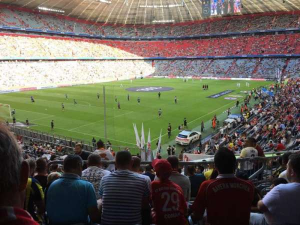 Allianz Arena, section: 134, row: 27, seat: 19
