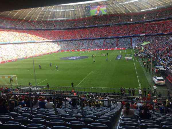 Allianz Arena, section: 133, row: 27, seat: 8