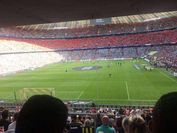 Allianz Arena, section: 132, row: 27, seat: 12