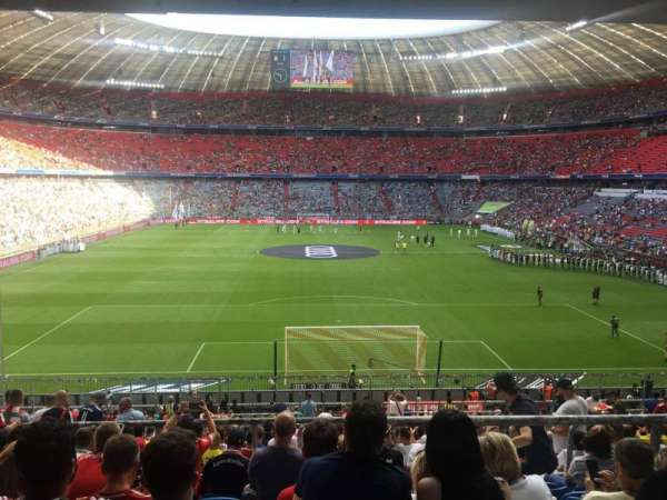 Allianz Arena, section: 130, row: 27, seat: 18